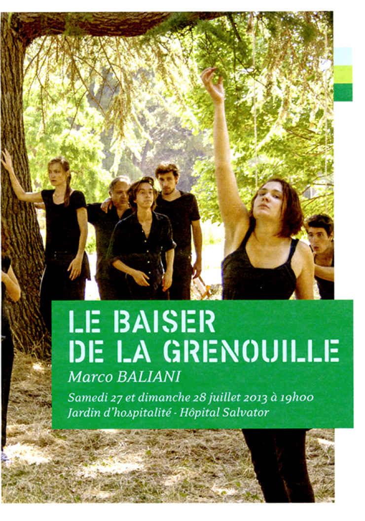 LE BAISER DE LA GRENOUILLE