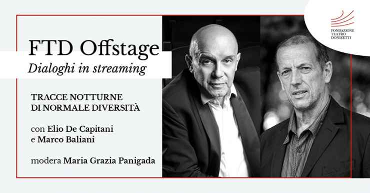 FTD OFFSTAGE: Dialoghi in streaming